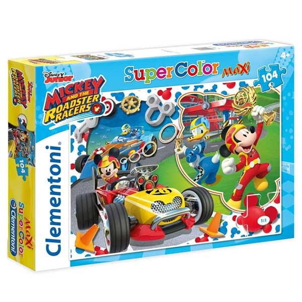 Clementoni puzzla MICKEY AND THE ROADSTER RACERS 104pcs  23709 - ODDO igračke