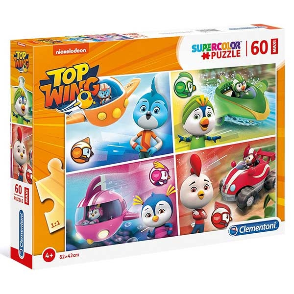 Clementoni puzzle TOP WING 60pcs 26453 - ODDO igračke