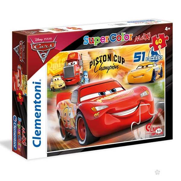 Clementoni puzzle CARS 60pcs 26424 - ODDO igračke