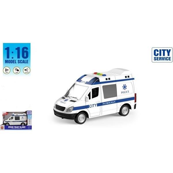 Kombi policijski sa zvukom i svetlom B/O 27,5x17x12cm WY590B/MX0181857 - ODDO igračke