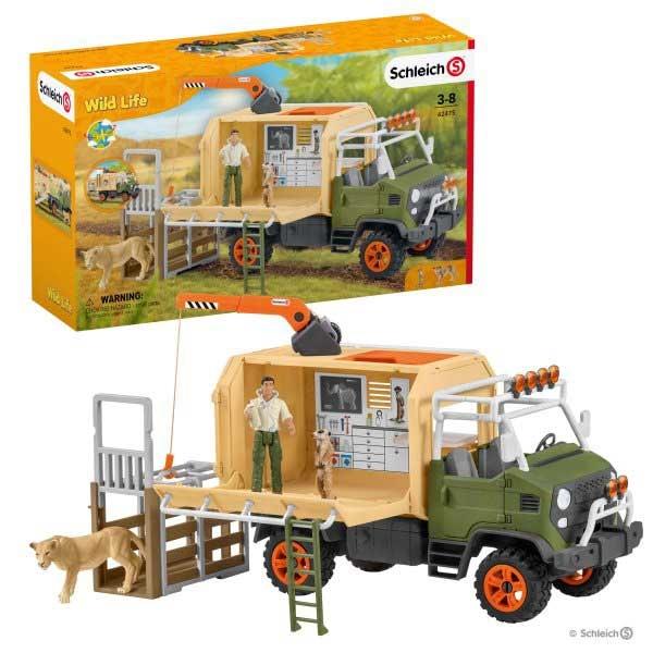 Schleich Kamion za spasavanje zivotinja 42475 - ODDO igračke