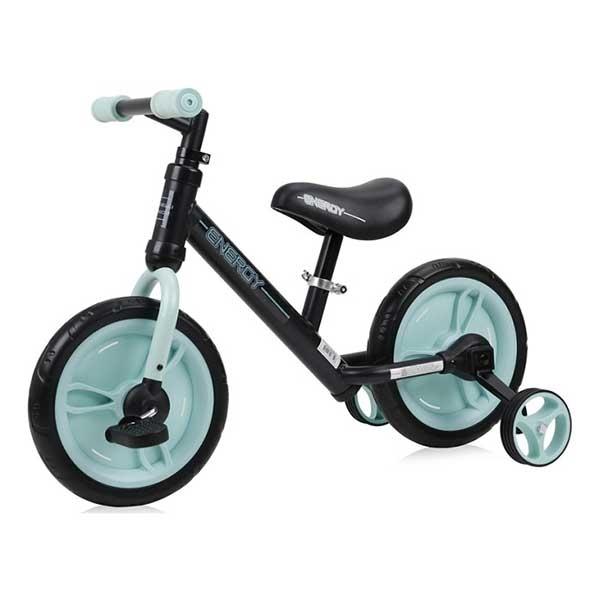 Bicikl balance bike energy 2 in 1 - BLACK&GREEN Lorelli Bertoni 10050480003 - ODDO igračke