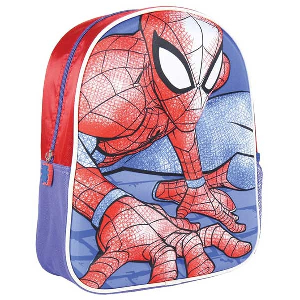 Ranac predškolski 3D Spiderman Cerda 2100002972 plavo-crveni - ODDO igračke
