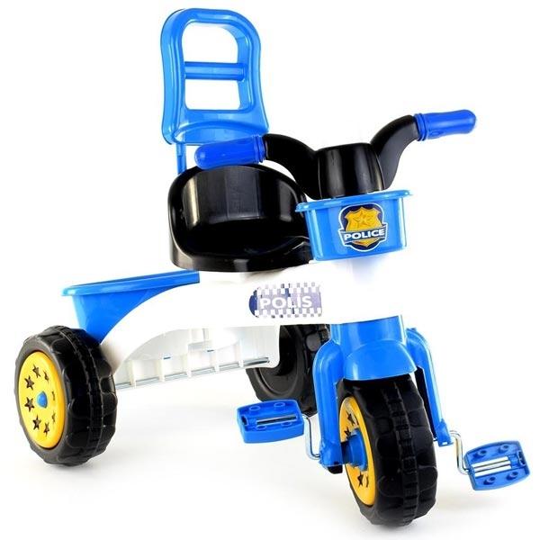 Tricikl Guclu Sweet sa sirenom Police 56x45x67,5cm 4591 - ODDO igračke