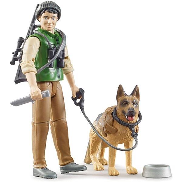 Šumar sa psom Bruder 626600 - ODDO igračke