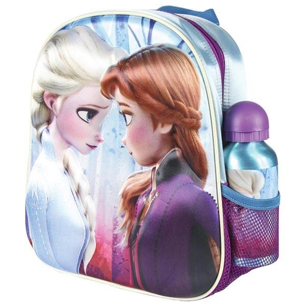 Ranac predškolski 3D+flašica Frozen2 Elsa/Anna Cerda 2100003051 - ODDO igračke