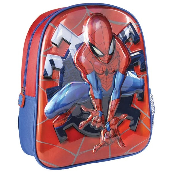 Ranac za vrtić 3D Spiderman Cerda 2100002965 crveno-plavi - ODDO igračke