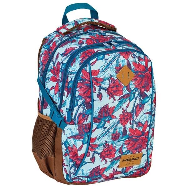Ranac djački-notebook sa ojačanjem HD- 63 Head 502018024 svetlo plavi-roze - ODDO igračke