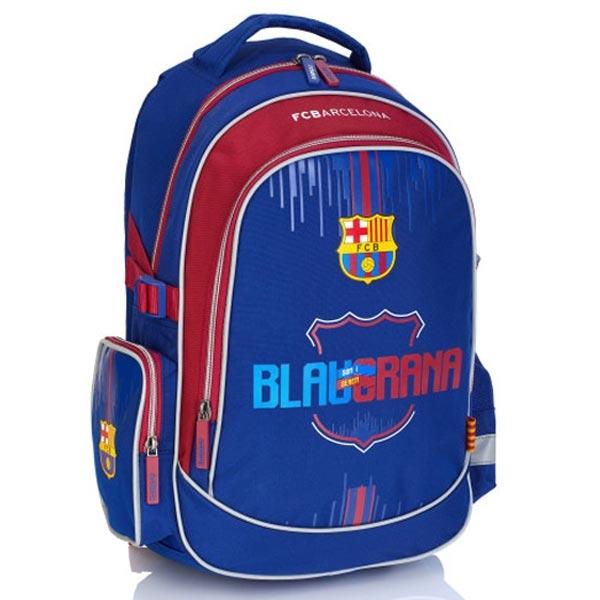 Ranac djački sa ojačanjem FC Barcelona FC-222 Astra 502019002 plavo-crveni - ODDO igračke