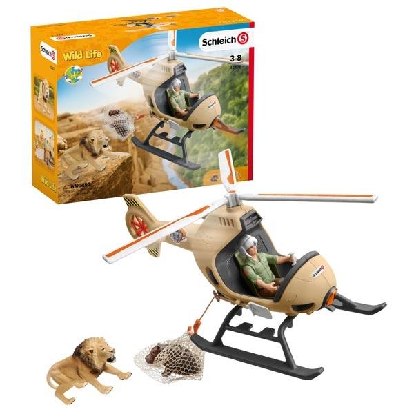 Schleich Helikopter za spasavanje životinja 42476 - ODDO igračke