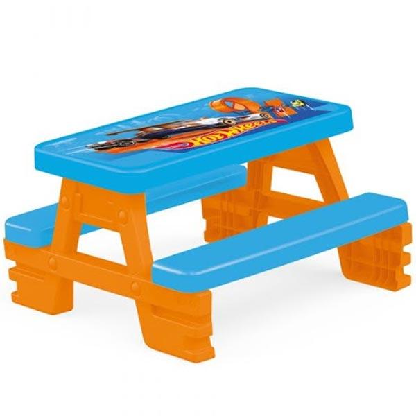 Sto Piknik sa klupom Hotwheels Dolu 023087 - ODDO igračke