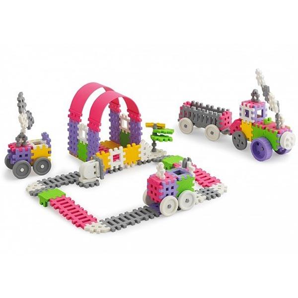 Konstruktor 140pcs Mini Waffle Marioinex 902837 - ODDO igračke