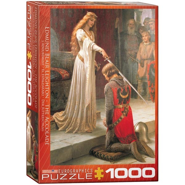 Eurographics Edmung Blair Leighton - The Accolade 1000pcs 6000-0038 - ODDO igračke