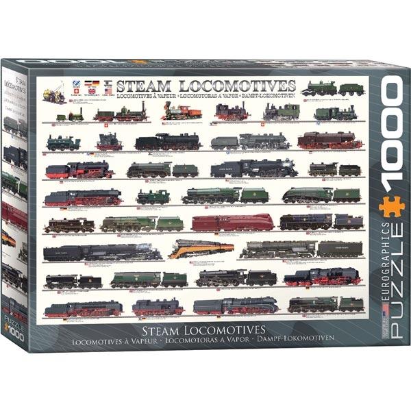 Eurographics Steam locomotives 1000pcs 6000-0090 - ODDO igračke