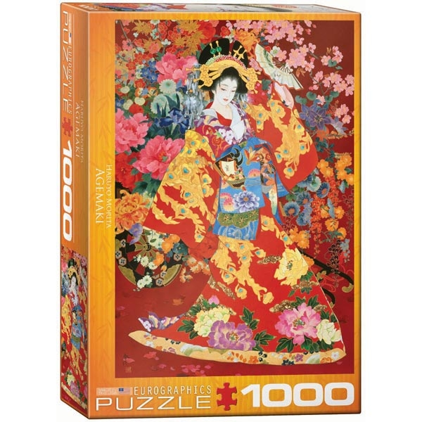 Eurographics Morita Haruyo Agemaki 1000pcs 6000-0564 - ODDO igračke