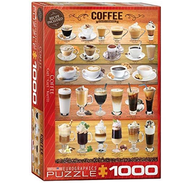 Eurographics Coffee 1000pcs 6000-0589 - ODDO igračke