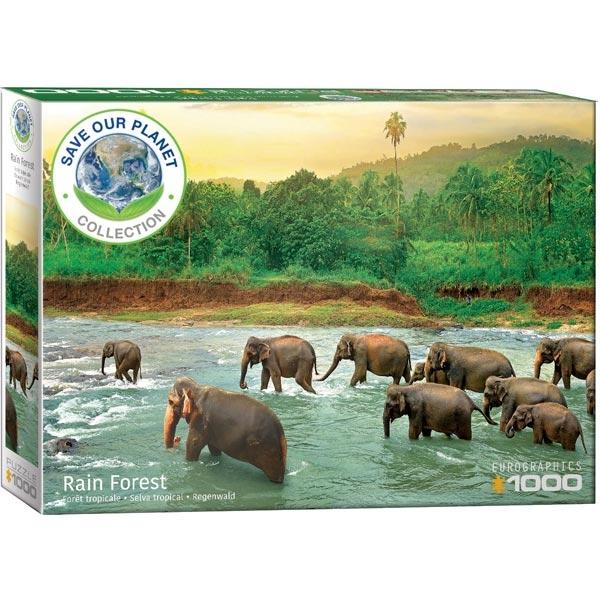 Eurographics Save Our Planet Puzzles Rainforest 6000-5540 - ODDO igračke