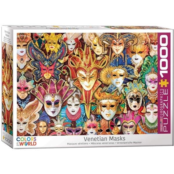 Eurographics Colors of the World Venetian Mask 1000pcs 6000-5534 - ODDO igračke