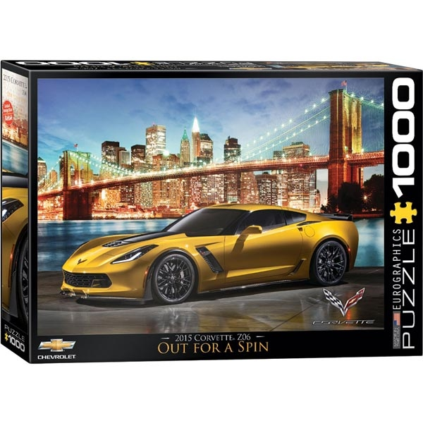 Eurographics Classic Car Collection Corvette Z06 Out for a Spin 1000pcs 6000-0735 - ODDO igračke
