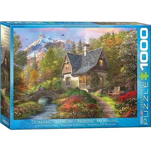 Eurographics Nordic Morning 1000-Piece Puzzle 0966 - ODDO igračke