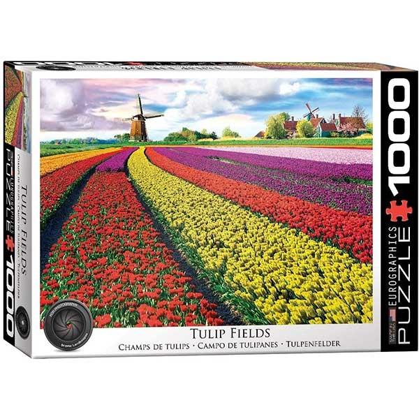 Eurographics Tulip Fields Netherlands 1000-Piece Puzzle 5326 - ODDO igračke