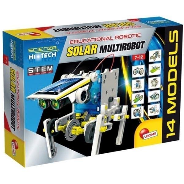 HI -Tec Nauka Edukativni set konstruiši Solarnog Robota Lisciani 73252 - ODDO igračke