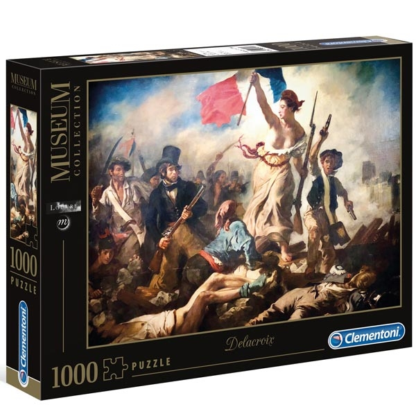 Clementoni Puzzla Eugene Delacroix Liberty Leading The People 1000 pcs 39549 - ODDO igračke