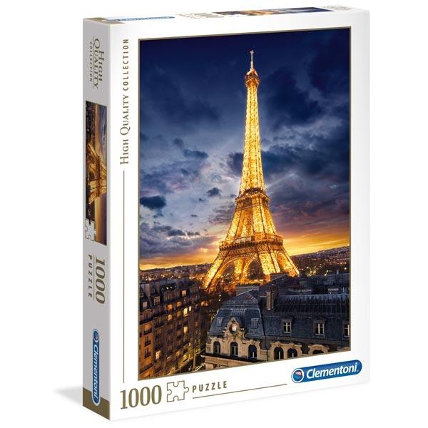 Clementoni Puzzla Tour Eiffel 1000 pcs 39514 - ODDO igračke