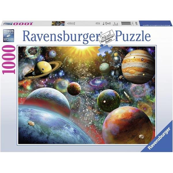 Ravensburger puzzle (slagalice) - 1000PCS Planete RA19858  - ODDO igračke