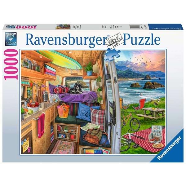 Ravensburger puzzle (slagalice)- 1000pcs Najlepše bekstvo RA16457 - ODDO igračke