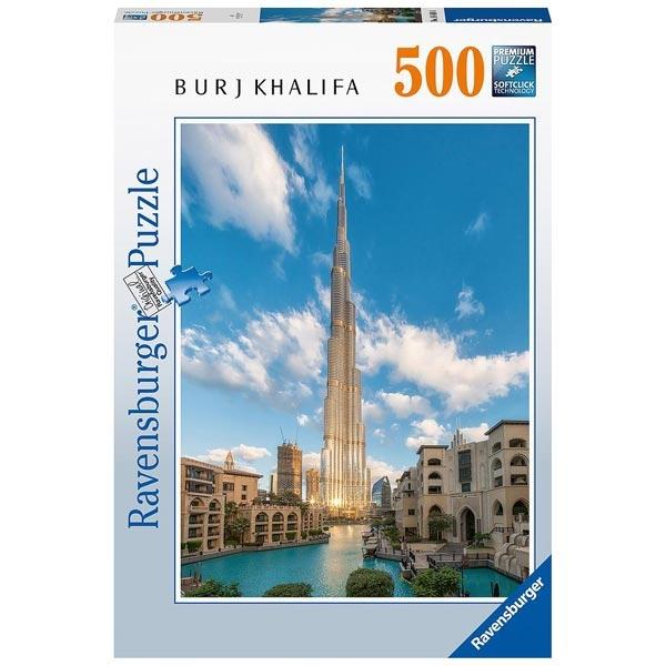 Ravensburger puzzle (slagalice)- 500pcs Burj Khalifa, Dubai RA16468 - ODDO igračke