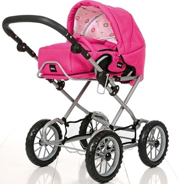 Kolica Brio - Combi- Ružičasta BR24891309 - ODDO igračke