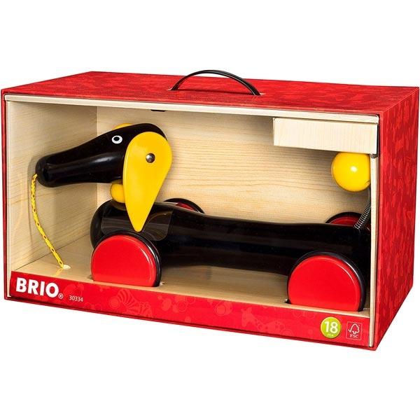 Pas drveni na potez Brio - veliko pakovanje BR30334 - ODDO igračke