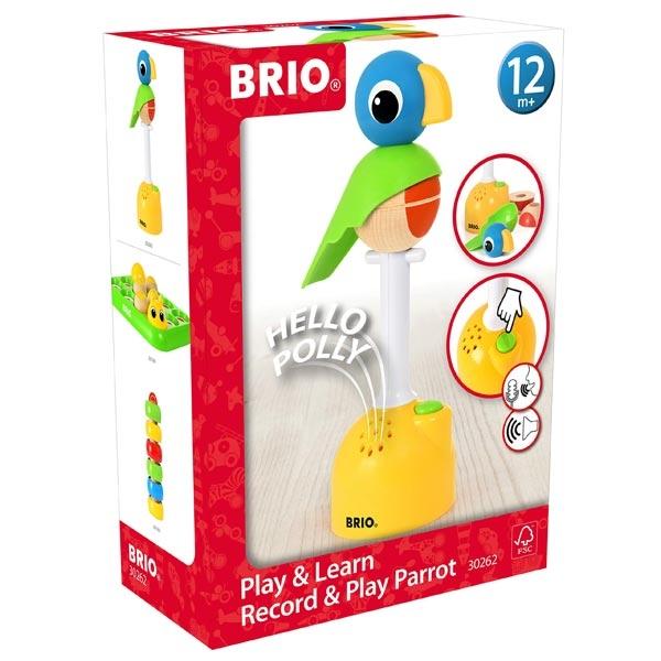 Papagaj Brio - sa opcijom za snimanje zvuka BR30262 - ODDO igračke