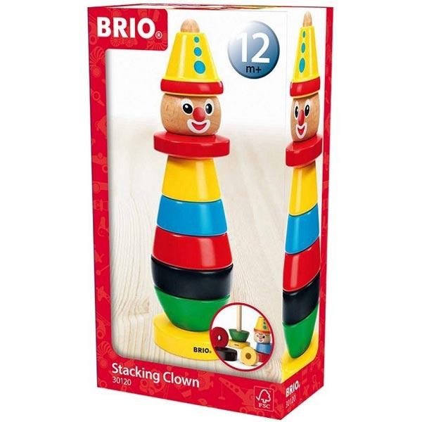 Klovn drveni Brio za slaganje BR30120 - ODDO igračke