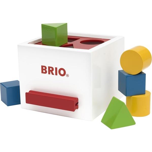 Kutija za slaganje oblika Brio BR30250 - ODDO igračke