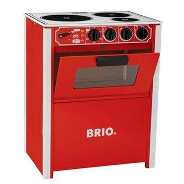 Šporet crvene boje Brio BR31355 - ODDO igračke