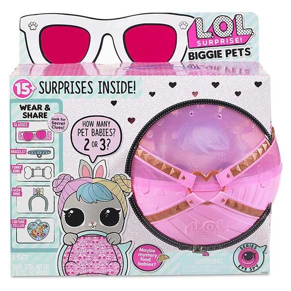 LOL Kugla iznenadjenja Biggie Pets 552215PE7C/552246E7C - ODDO igračke