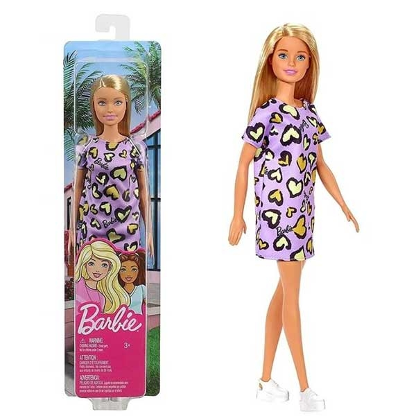 Lutka Barbie Blonde Purple Heart GHW49-9633 - ODDO igračke