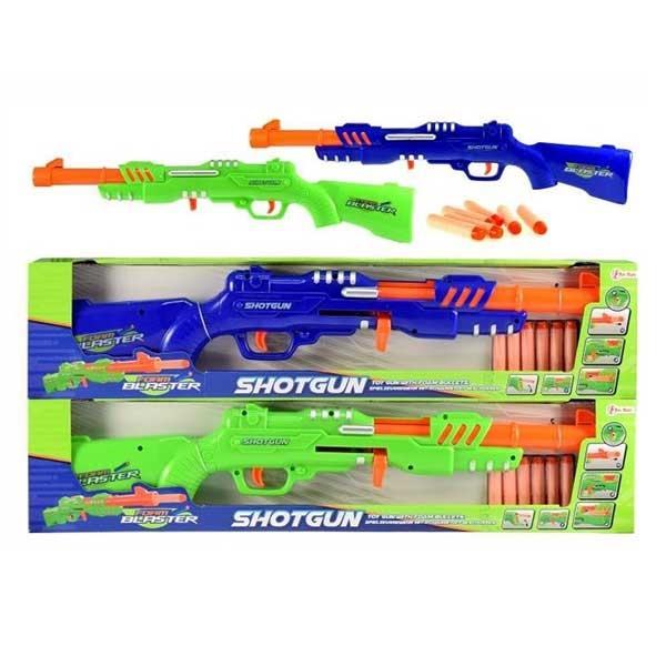 Puška sa 6 sundjerastih metaka 35853Z - ODDO igračke