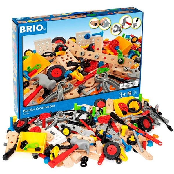 Graditeljski aktivni set 271 deo Brio BR34589 - ODDO igračke