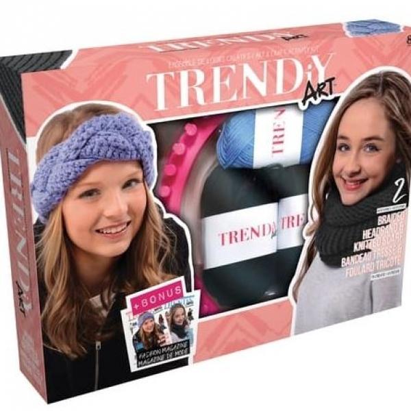 Trendy Art Set za pletenje šala/traka za glavu Goliath 33.068.004 - ODDO igračke