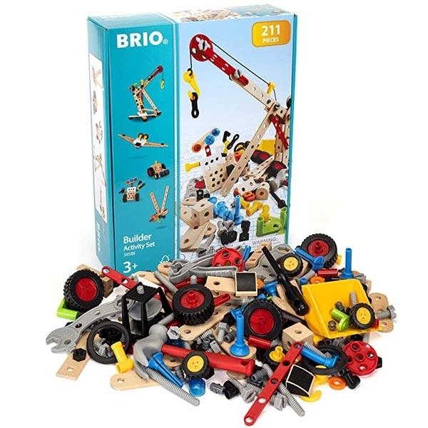 Graditeljski aktivni set 211 delova Brio BR34588 - ODDO igračke