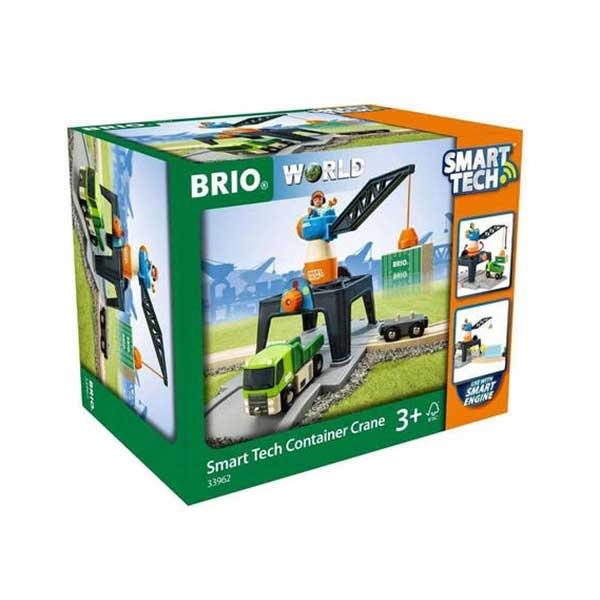 Dizalica za kontejner- Smart Tech Brio BR33962 - ODDO igračke