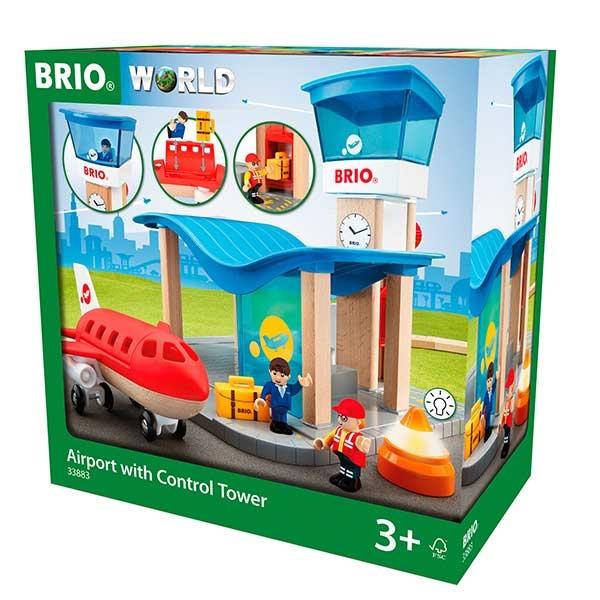 Aerodrom sa kontrolnom kulom Brio BR33883 - ODDO igračke