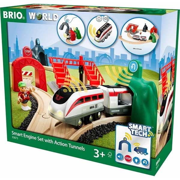 Železnički komplet-Smart tech Brio BR33873 - ODDO igračke