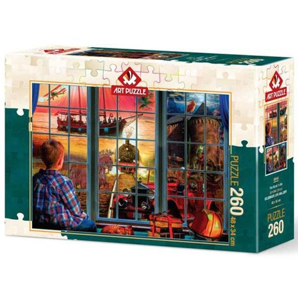Art puzzle The World in Me 260 pcs - ODDO igračke