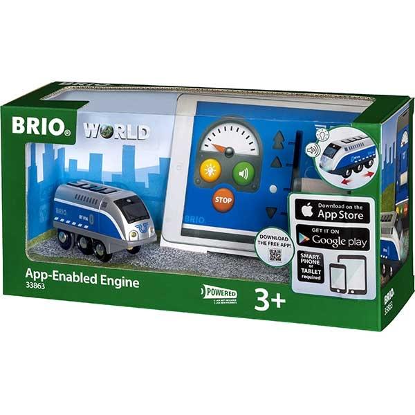 Lokomotiva sa mini USB kablom Brio BR33863 - ODDO igračke