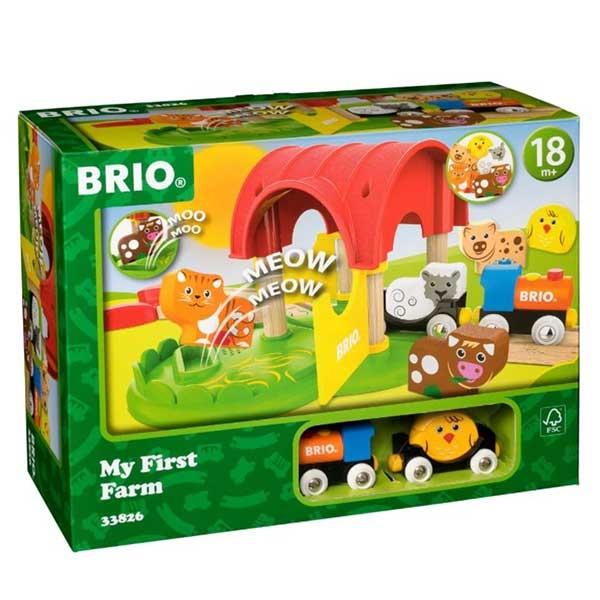 Moja prva farma Brio BR33826 - ODDO igračke