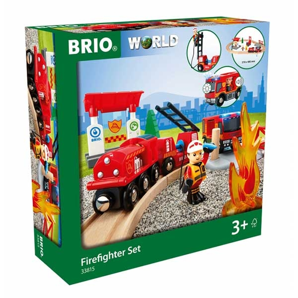 Set za vatrogasce Brio BR33815 - ODDO igračke